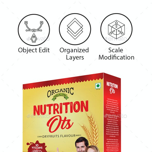 Oats / Cereal Packaging Template