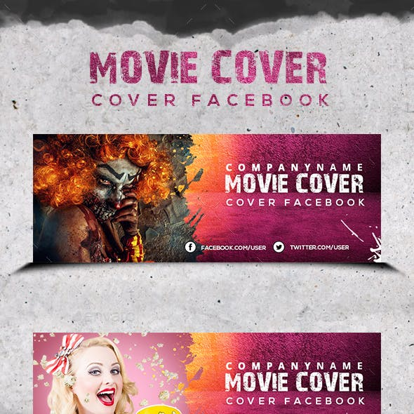 Movie Grunge - Cover Facebook