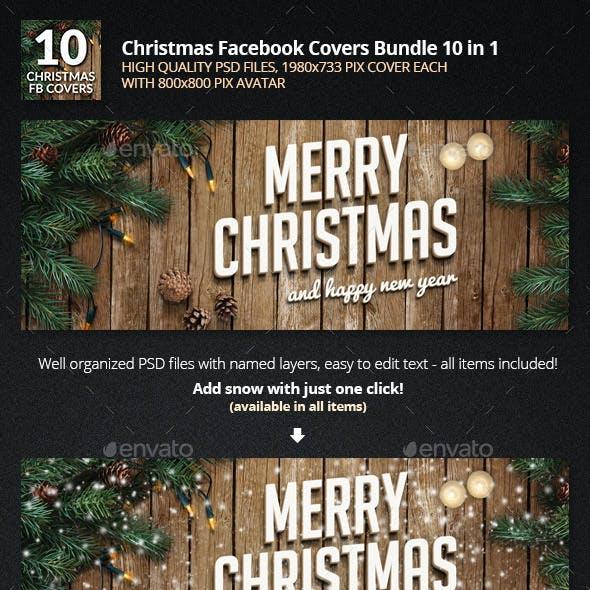 Christmas Facebook Bundle 10 in 1