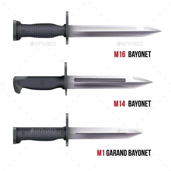 Bayonet Knives for Rifles