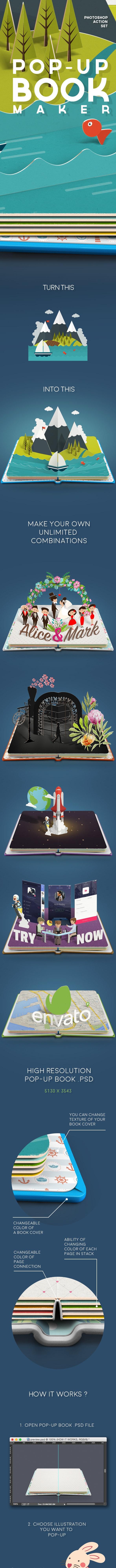 POP-UP Book Maker - Utilities Actions