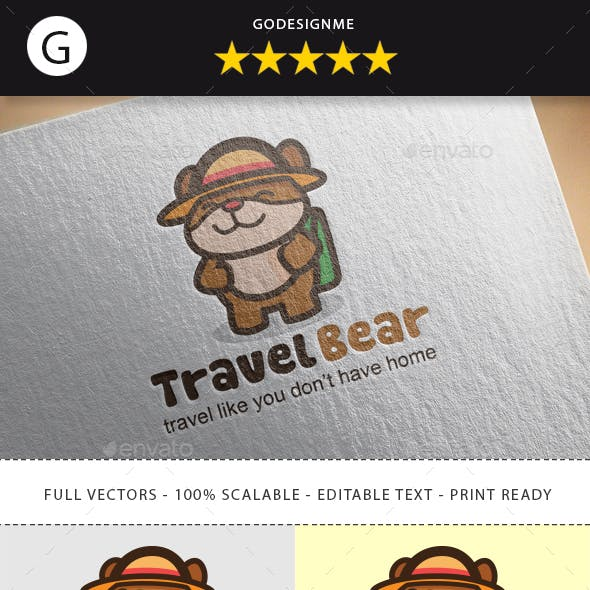 Travel Bear Logo