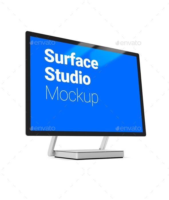 Surface Studio Mockup - Product Mock-Ups Graphics