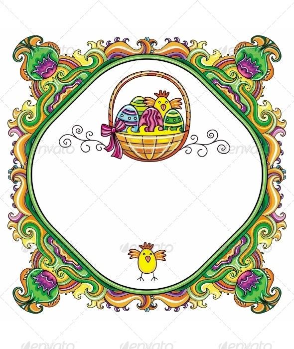 Easter Frame - Seasons/Holidays Conceptual