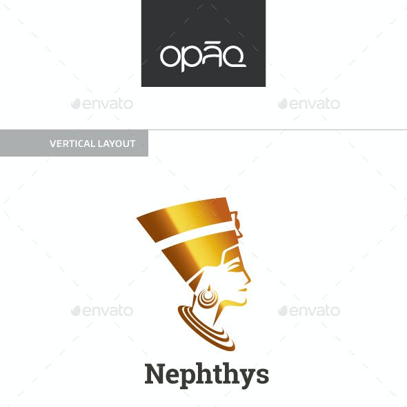 Nephthys Lady Logo