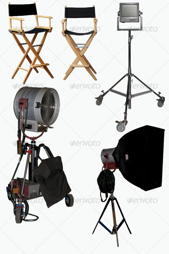 Movie Set Items - Activities & Leisure Isolated Objects