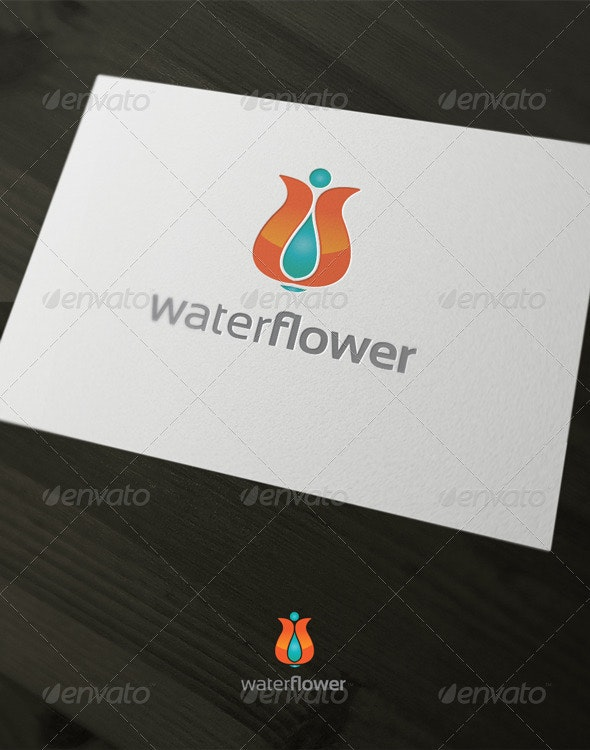 Water flyer - Nature Logo Templates