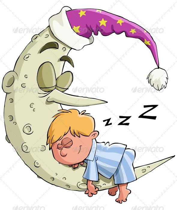 The Boy Sleeps - People Characters
