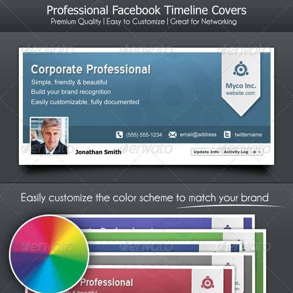 Facebook Timeline Cover for Corporate Professional