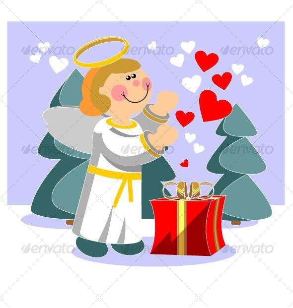Smile angel  07 - Christmas Seasons/Holidays
