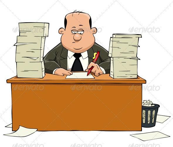 Bureaucrat - People Characters