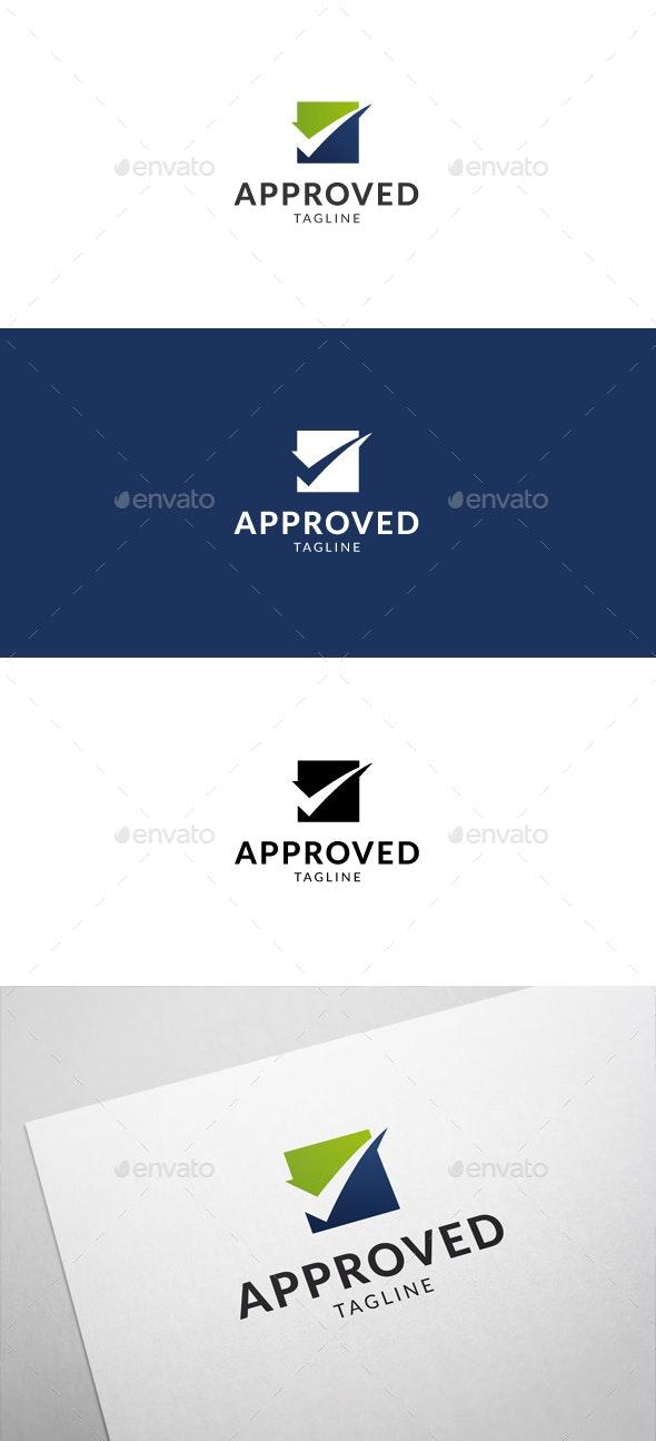 Approved Logo - Symbols Logo Templates