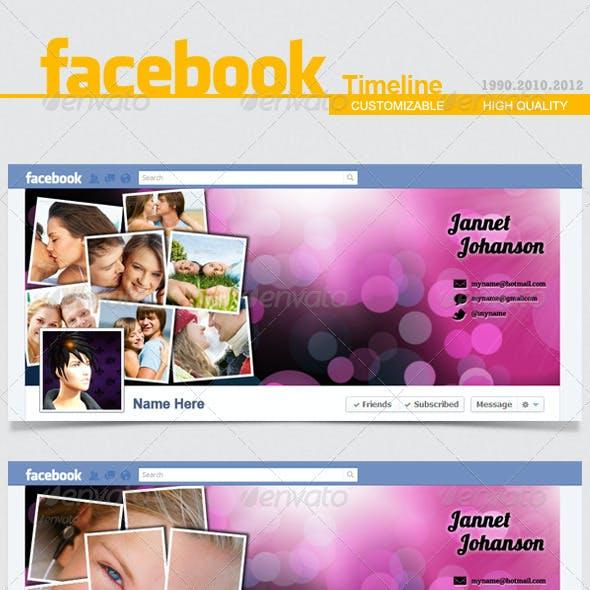 Facebook Timeline Cover V.6