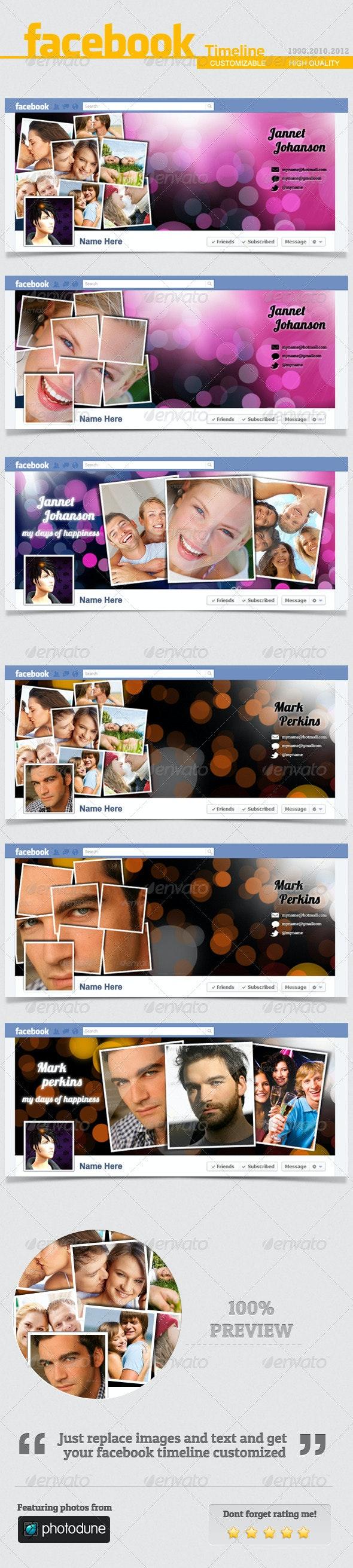 Facebook Timeline Cover V.6 - Facebook Timeline Covers Social Media