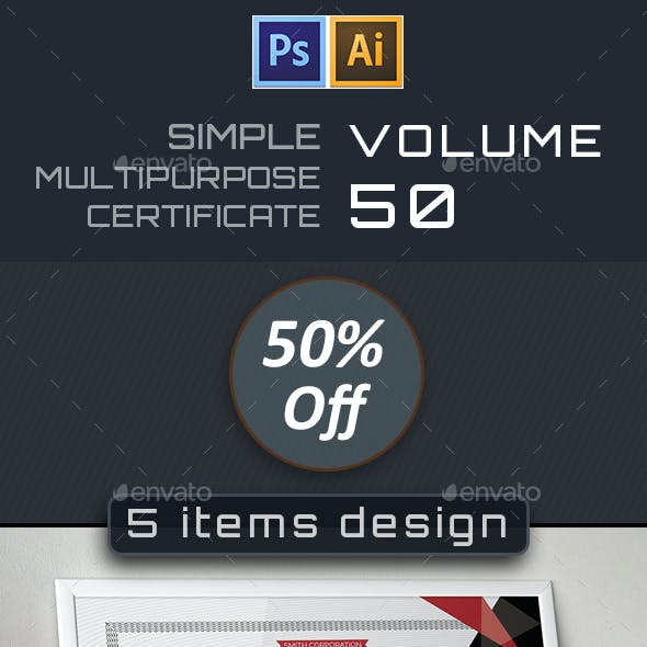 Simple Certificate Bundle 50