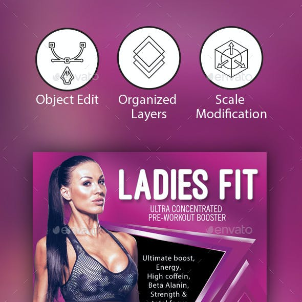 Fitness/ Gym Flyer Template