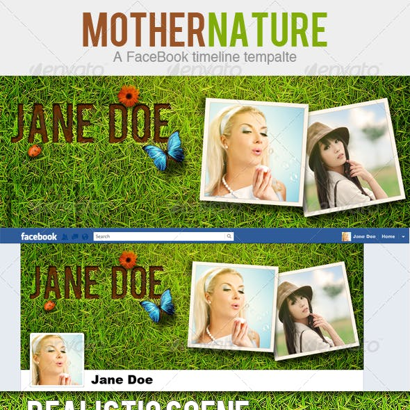 Mother Nature Timeline Template