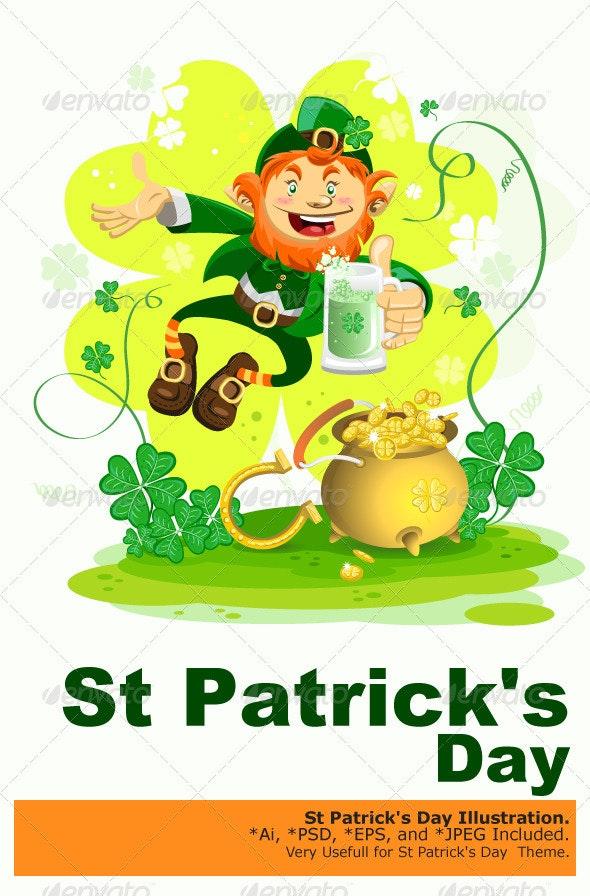 Saint Patrick's Day - Miscellaneous Seasons/Holidays