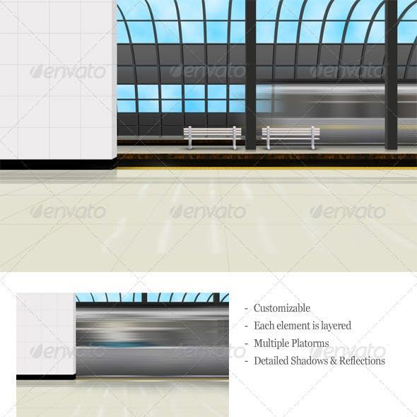 Train Station / Subway / Metro