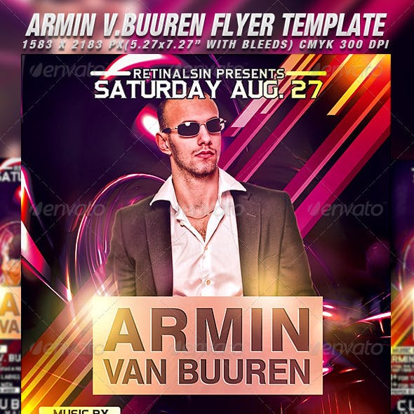 Armin Flyer Template