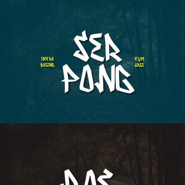 Serpong Typeface