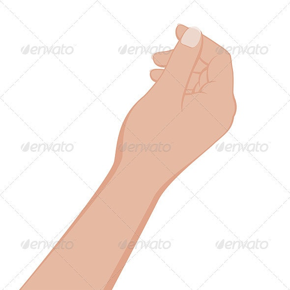 Hand Give or Take Something - Objects Vectors