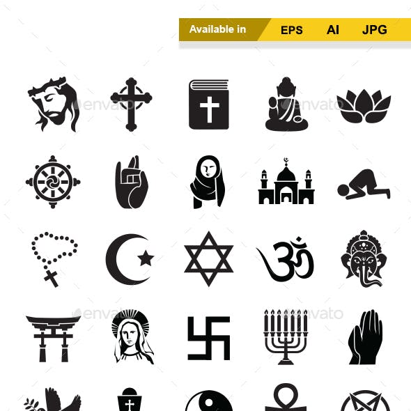 Religion Vector Icons