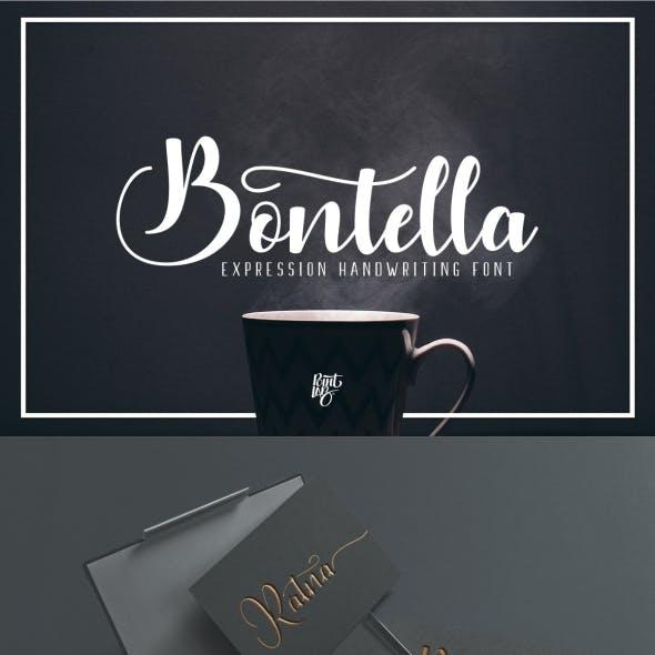 Bontella Script