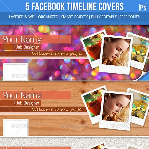 5 Facebook Timeline Covers