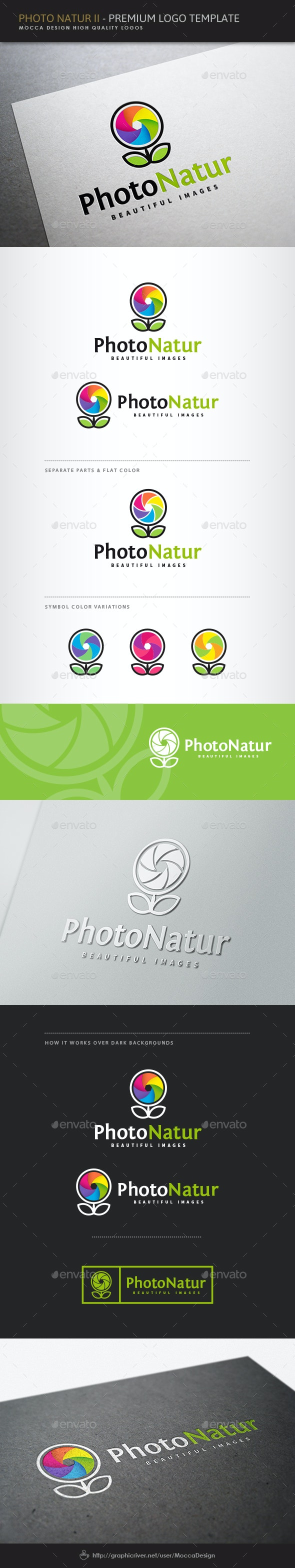 Photo Natur II Logo - Symbols Logo Templates