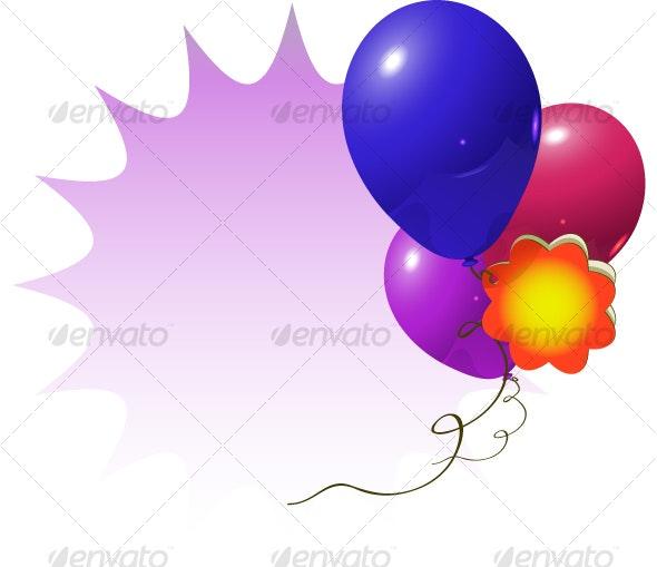 celebration balloons - Birthdays Seasons/Holidays
