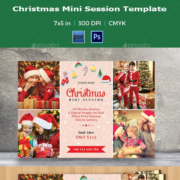 Christmas Mini Session Template-V02