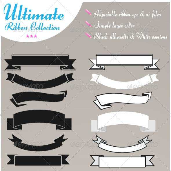 Ultimate vector ribbon set