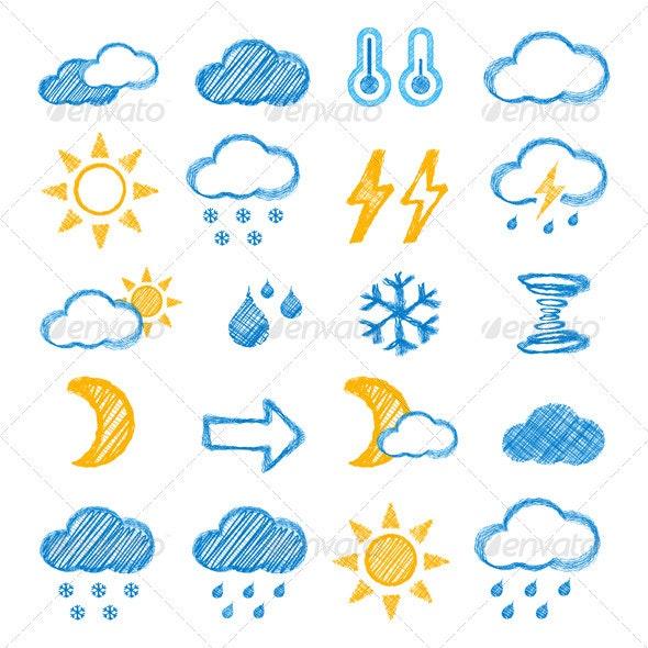 Weather Icon  - Seasons Nature