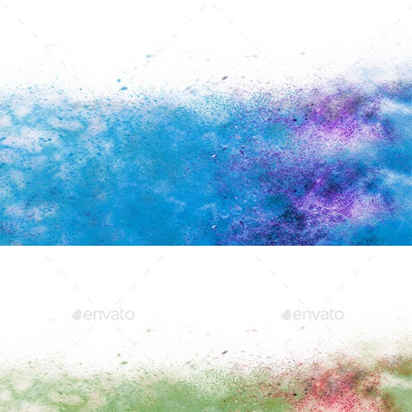 Background Colored Particle png