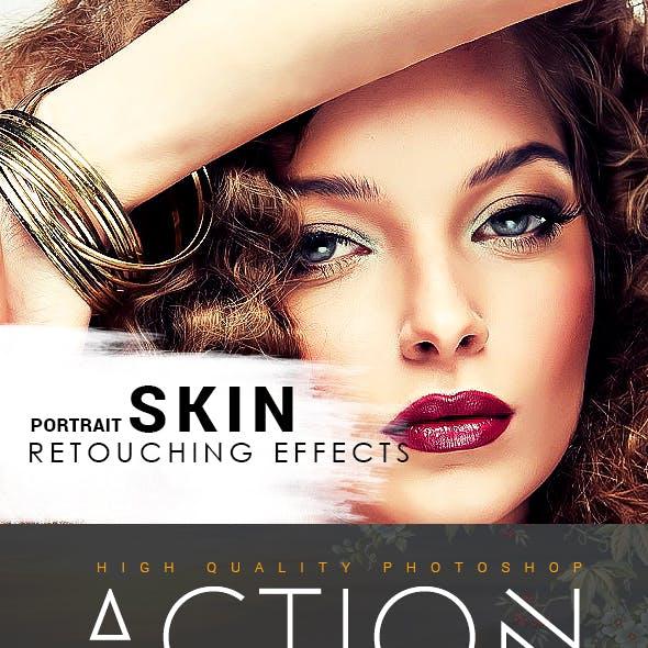 Portrait Skin Retouching Effects