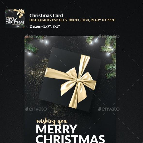 Merry Christmas - Holiday Greeting Card
