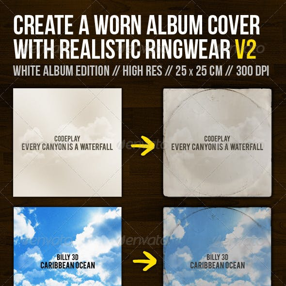 Create A Worn Album Cover With Ringwear Part 2