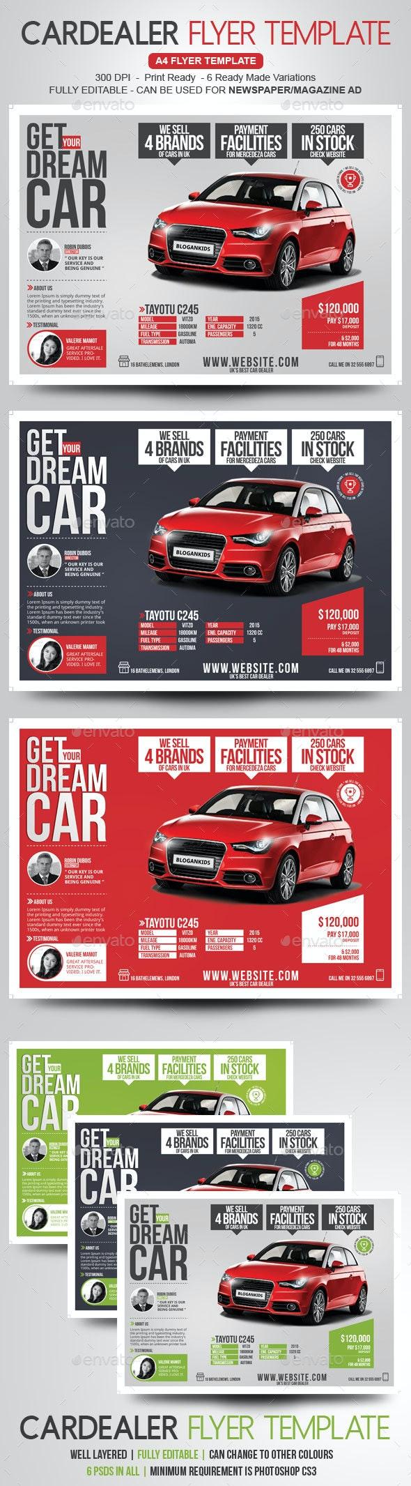 Car Dealer Flyer / Magazine Ad - Commerce Flyers