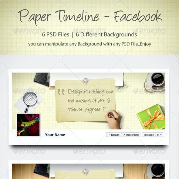 Paper Timeline - Facebook