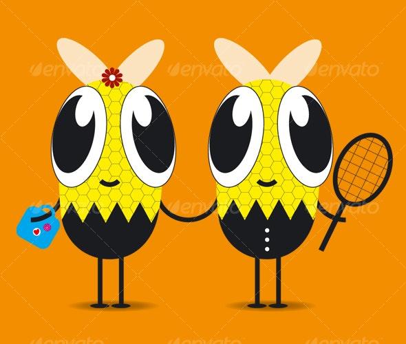Bee love - Animals Characters