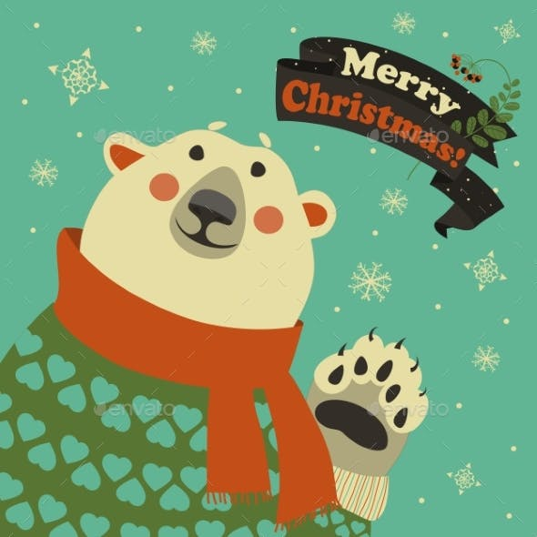 Polar Bear Says Hello