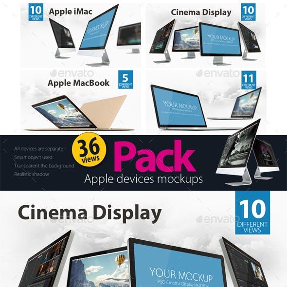 Devices Mockups - Bundle