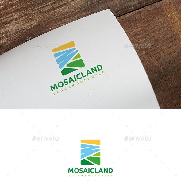 Mosaic Landscape Logo