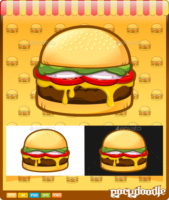 Burger - Food Objects