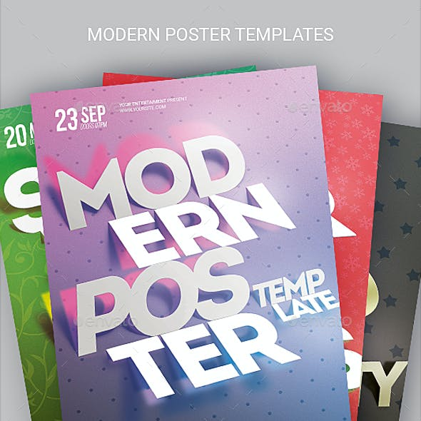 Modern Poster Template