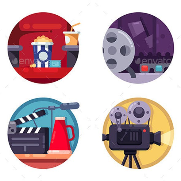 Film Industry Concept