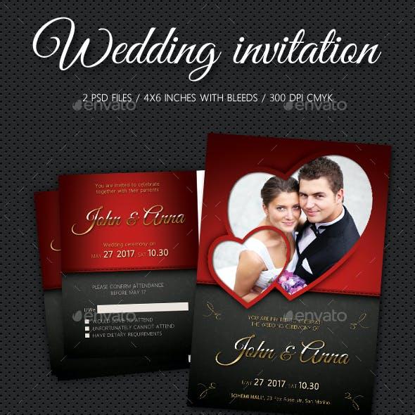 Wedding Invitation V3