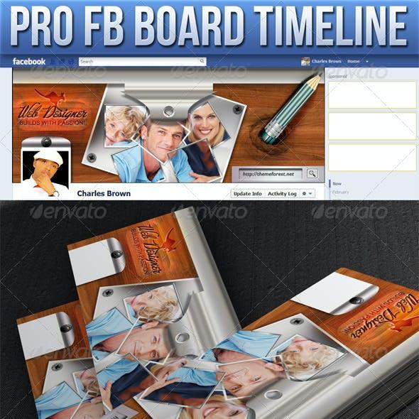 Pro Facebook Board Timeline
