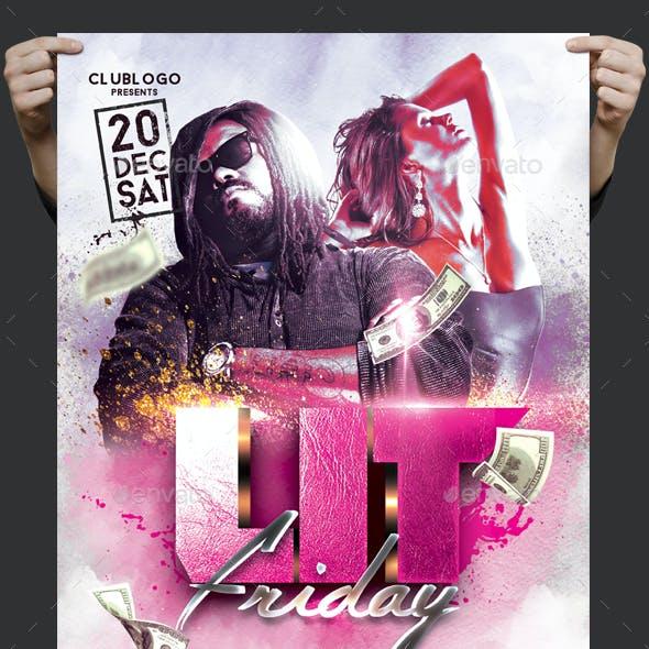 Lit Friday Flyer